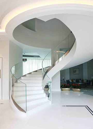 Stairs and Balustrade
