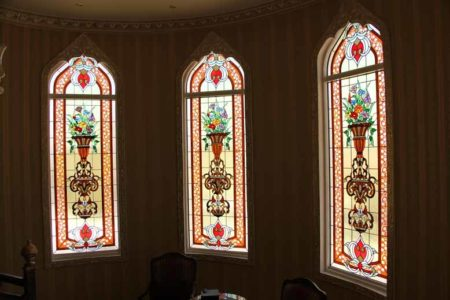 stained window +